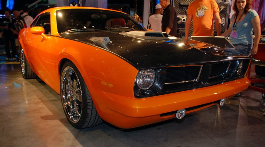 SEMA 2007: Chrysler Barracuda концепт для фермера